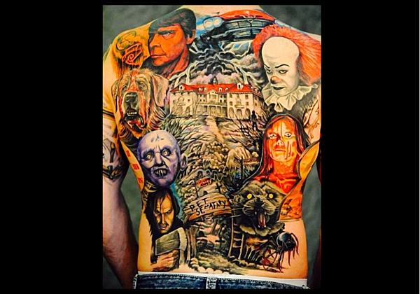 the best stephen king tattoos from his stories photos. Black Bedroom Furniture Sets. Home Design Ideas